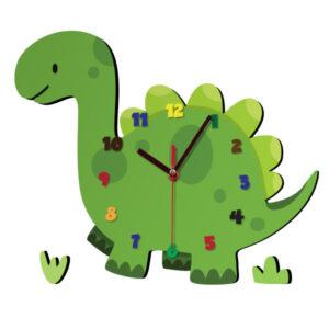 ساعت دیواری کودک ژیوار طرح دایناسور
