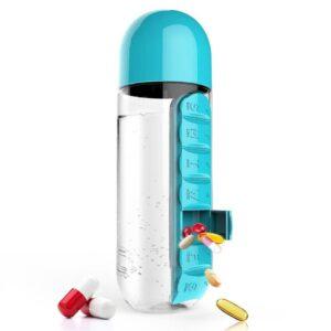 جعبه نگهدارنده دارو و بطری آب مدل 830