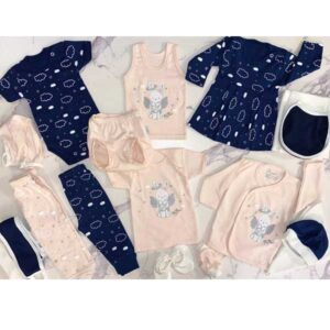 ست 20 تکه لباس نوزاد آرین طرح انجل