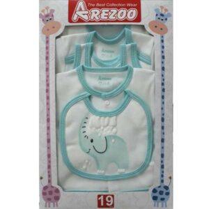ست 19 تکه لباس نوزاد آرزو طرح فیل