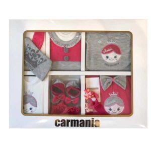 ست 19 تکه لباس نوزاد کارمانیا طرح 0014