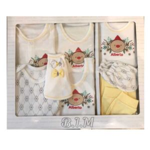 ست 19 تکه لباس نوزاد B.I.M طرح 0017